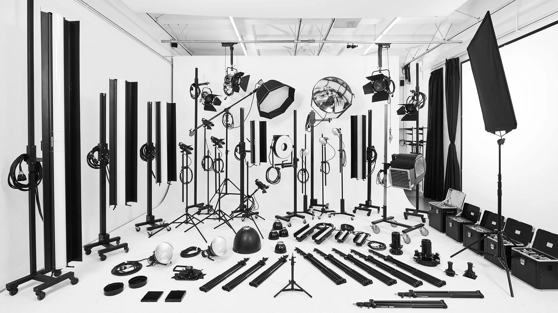 Studio Dresden mit Lichtausstattung