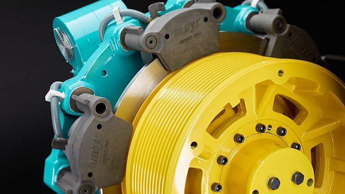 Produktfotografie von Aufzugsmotoren fuer Wittur Drives