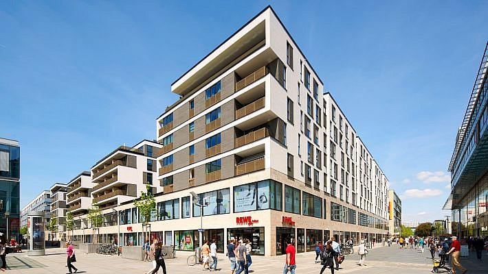 Architektur- und Imagefotografie für das Prager Carrée in Dresden für die REVITALIS AG