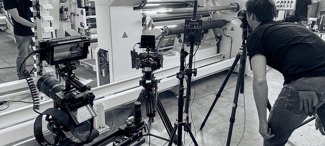 Wie gut es funktioniert, Fotografie & Film aus einer Hand anzubieten, dass beweisen wir nun regelmäßig bei KLSF. Industriefotografie, Produktfotografie von Maschinen, Produktfilm.